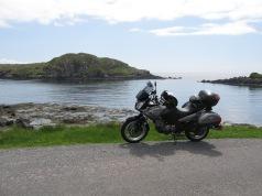 suzuki v-strom Isle of Skye