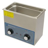 3ltr analogue ultrasonic cleaner front panel