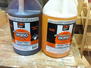 formula 2050 woodworking tool cleaning solution