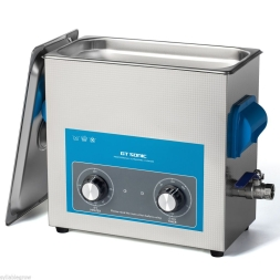 image of an 6Ltr analogue ultrasonic cleaner