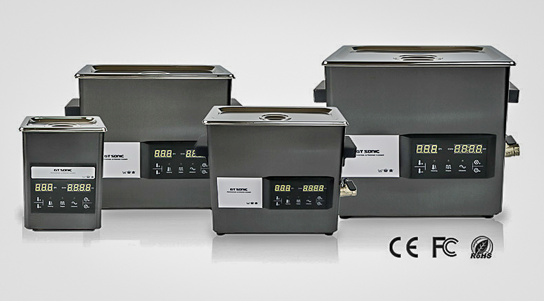 GT Sonic ultrasonic cleaners with touch control